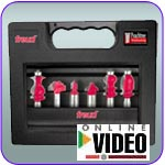Freud Frame and Molding Router Bit Set