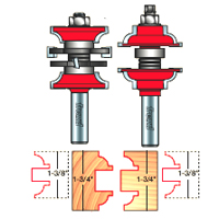 Freud Entry And Interior Door Router Bit Set